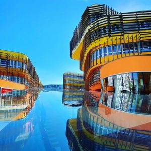Neuer Blickwinkel auf den Campus WU. Wie viele Gebäude kannst du erkennen? 📸 by @memarhooman.architect 📸 Ihr...