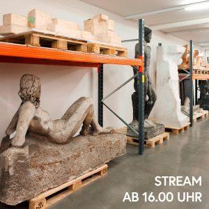 Heute um 16 Uhr nimmt euch Kunstexperte Markus Hübl mit in das Fritz Wotruba Depot im Belvedere...