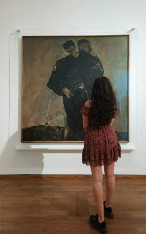 Klimt, Schiele and I ✨ #klimt #schiele #wien Leopold Museum