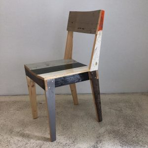 Piet Hein Eek high gloss scrap wood chair #chair #scrapwood #highgloss #pietheineek #vienna #songvienna