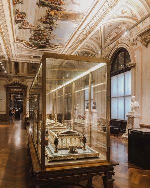 Interior goals Kunsthistorisches Museum Vienna