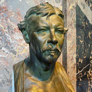 Viktor Tilgner (1844-1896). Bust of Austrian painter Leopold Carl Müller. Bronze. @kunsthistorischesmuseumvienna #viktortilgner #wienmuseum #wienartmuseum #vienna1900 #wien1900...