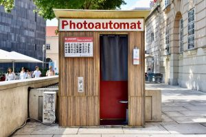 Photo booth 📸, MuseumsQuartier, Vienna // August 2020. . . . #vienna #austria ...