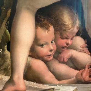 L'amour heureux et l'amour tourmenté... Kunsthistorisches Museum Vienna