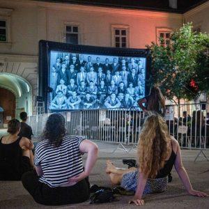 Endlich! Unser 1. Filmabend des Architektur.Film.Sommer 2020 ist gestern bei lauschigen Sommertemperaturen über die Bühne gegangen! Fotos:...