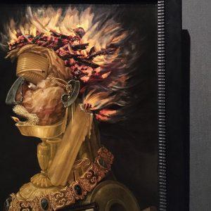 Mood: 1566 🔥 #giuseppearcimboldo #fire #painting #art #khm #vienna #museum #relightmyfire Kunsthistorisches Museum Vienna