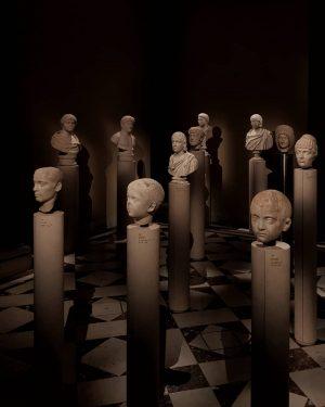 Bach: Motets, @kingscollegechoir #viena #wien #vienna #art #artworld #sculptures #sculpture #maleform #statue #canova #bronzesculpture #bronze #blackandwhite #sepia...