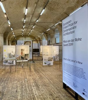 Are you in Vienna? Don't miss the #EUMiesAward2019 exhibition