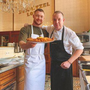 🔥Das Wiener Schnitzel mit Lukas Galgenmüller💯 Am Donnerstag ist es soweit.🎬 Geil wird's! @lukasgalgenmueller #juergengschwendtner #meisslundschadn #schnitzellove...