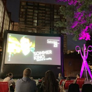 #weekend almost over but not yet. Ready for an #openaircinema movie night. Belvedere 21