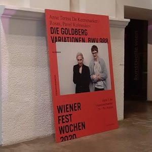 Back at the theatre, finally! Wonderful performace! #wienerfestwochen #anneteresadekeersmaeker #tanz #dance