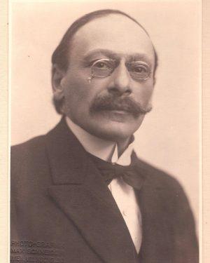 Wir wollen heute an Max Neuburger und die 1920 durchgeführte Domizilierung des Instituts der Geschichte der Medizin...