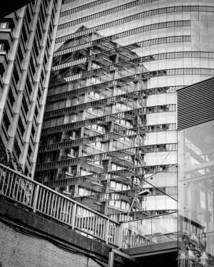 Steel, Concrete and Glas. Vienna in black and white. #urban #photography #streetphotography #architecturephotography ...
