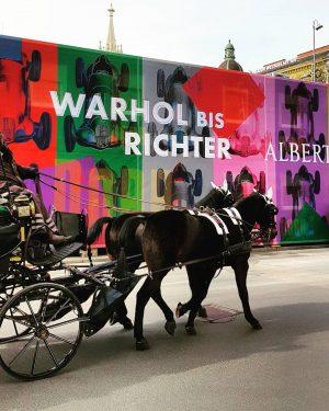 @albertinamuseum #albertinamuseum #warholbisrichter #Vienna #wien #museum #fiaker Albertina Museum