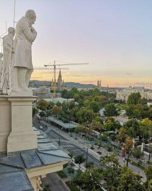 Kończę kurs na licencję przewodnika po Wiedniu. To jedno z ostatnich miejsc, które odwiedziłam, wiśnienka na torcie....