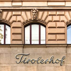 #street_type #street_typography #signsunited #buildingdetails #myplanetfacades #addicted_to_facades #worldfacades #walls_talking #wallsandfacades_greatshots #igersvienna Cafe Tirolerhof