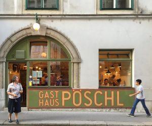 Vienna 2015. Architect: Herman Czech Gasthaus Pöschl früher Immervoll