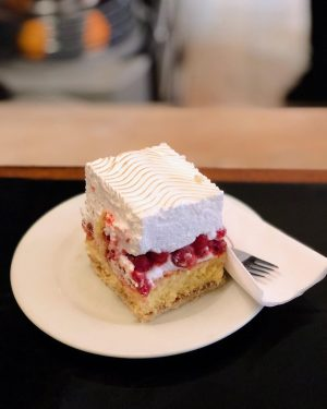 one last Vienna throwback featuring this fabulous cranberry cake I had. . . ...