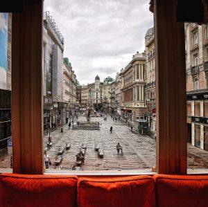 Vienna #208 #meinl #restaurant #view #graben #ilovevienna #igersvienna #blick #vienna #wien #austria Julius Meinl am Graben
