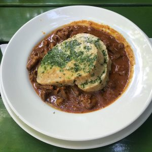 #🍽#bonappetit #joyfull #eierschwammerl #knödel #lunch #starter #maincourse #instafood #gayfood #instagay #foodporn #cuisine #monday ...