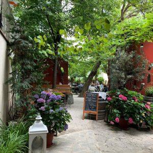 Best post-museum restaurant so far! Glacis Beisl