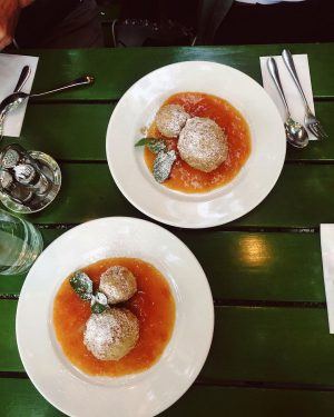 Not sure when the knödel love turned into an obsession. (Vanessa, 26, at ...