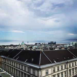 #happyweekend #vienna #cloudysky #endofsummer #wien🇦🇹 Le Méridien Vienna
