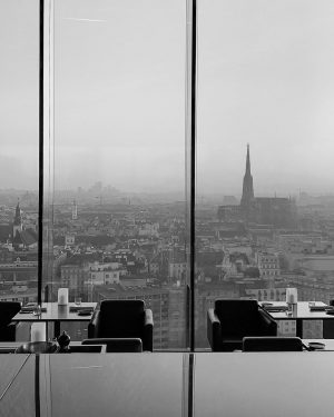 Impressive view over Vienna from the SO/Vienna projected by the french architect Jean Nouvel #travelphotography #natgeotravel #photography📷...