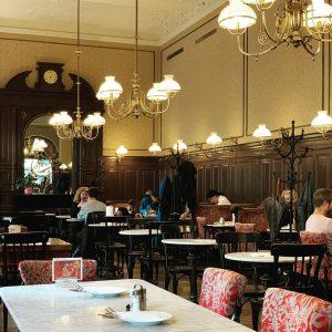 Vienna calling #cafesperl #wienwiennurduallein #kaffeetscherl #alexa_brauner #coffeehouse since 1880 #gemütlichkeit #vienna #coffeelover #dangerousmethodsfilmlocation #beforesunrise Café Sperl