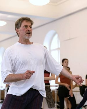 We are happy to be training again! This morning with the Vienna State Ballet's new Director, Martin...