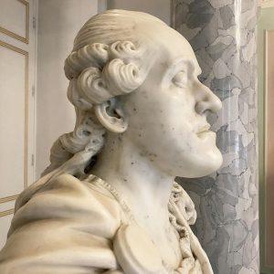 Franz Xaver Messerschmidt (1736-1783). Bust of Prince Albert von Sachsen-Teschen, Governor-general of the ...