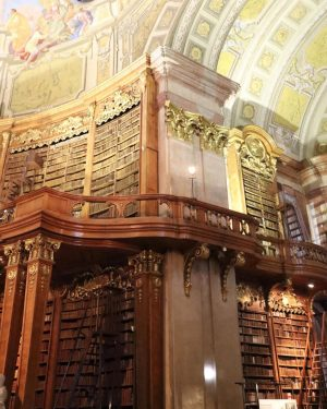 I love libraries so much! And this is absolutely one of the most beautiful I've ever seen...