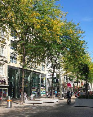 Mariahilfer Straße _______________ #viennanow #einkaufen #wienbistduschön #mahü #mariahilferstrasse #fuzo #begegnungszone #bestcity #wien #vienna