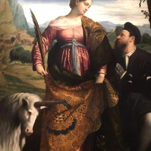 Es gab sie also DOCH! 🦄 #unicorn #onceaponatime #einhorn #gemälde #whendreamscometrue #museum Kunsthistorisches Museum Vienna
