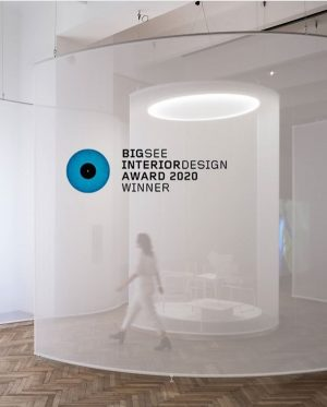 BigSEE Interior Design Award Winner 2020 ❤️ @someplacestudio UNCANNY VALUES Exhibition Design by Some Place Studio (Bika...