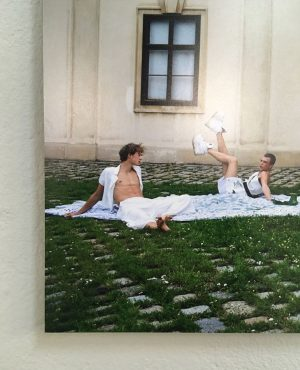Sneak peek of one of the works by graduates of Schule Friedl Kubelka @schulefriedlkubelka_photo to be shown...