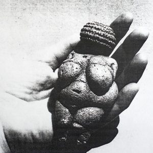 The real #venus in my #mom's #hand in the early 60ies