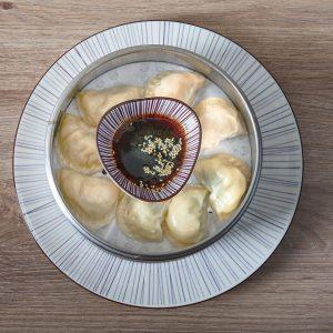Gyoza Time /// vegetarisch, Huhn-Shiitake oder Garnele-Bärlauch /// wir freuen uns auf Euch /// Wasserbar im MQ...