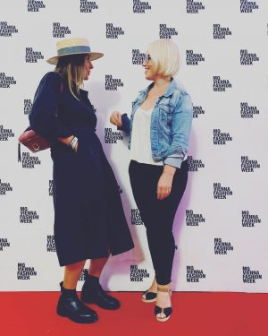 Vienna Fashion Week 🖤 #girlsgirlsgirls #fashionweek #vienna #polishgirl #polishgirls #polskiedziewczyny #happygirls #ootd #potd #fashionismypassion #polishbrands #elementywear #hatupdesingn...