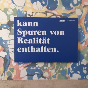 Unfug #istdaskunstoderkanndasweg #museumsquartier #vienna #austria #wien #Österreich #realitätwirdüberbewertet #art #aufabwegen #jenny #glänzen #denken ...