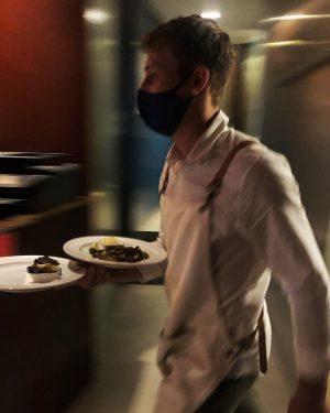 Alex the fastest waiter at Wrenkh