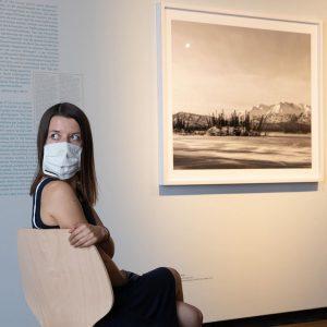 #NachUnsDieSintflut #Ausstellung: Die #Masken unterstützen die #Farbstimmungen (sepia!) mit zusätzlicher #prise #apokalypse im #KunstHausWien // #anthropozän #klimawandel...
