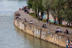 Was wäre Wien ohne sein Freizeitparadies Donaukanal? 😍 Seine heutige Form nahm er ...