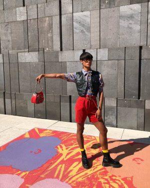 warhol babe ♥️🌎🦐🦋🕷 #prada #versace #andywarhol Warhol&friends