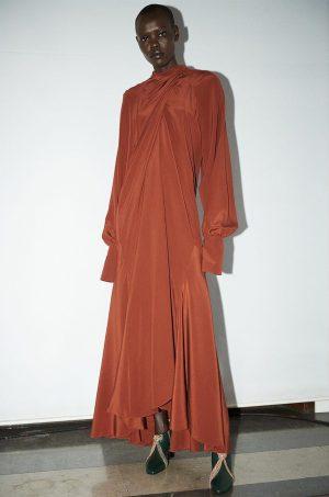 ABIEL DRESS #FALL2020 #PETARPETROV By Andrew Vowles