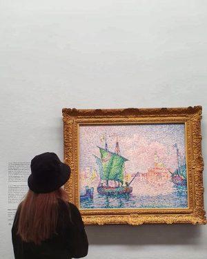 📸 @kaathivu . . . . . #albertina #albertinamuseum #vienna #art #vincentvangogh #pointilism ...