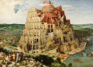 Pieter Bruegel the Elder (1525-30;1569), The Tower of Babel (1553), oil on paper. #tourofbabel #bruegel #bruegeltheelder #art...