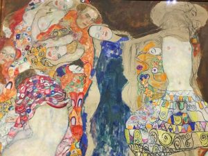 Klimt's Last Unfinished painting: how this unfinished work sheds light on the complex layering/layers of his Symbolist...