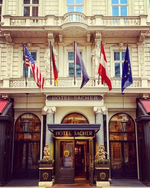 #hotel #quite during the coronavirus #pandemic #staysafe #stayhappy #sacher #centrallocation #vienna #luxushotel #luxuryhotel #philarmonikerstrasse #wien #cafersacher #sacherboutique...