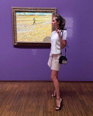 Степень удовлетворения: Вдоволь насладилась творчеством Ван Гога 💜 #art #vangogh Albertina Museum